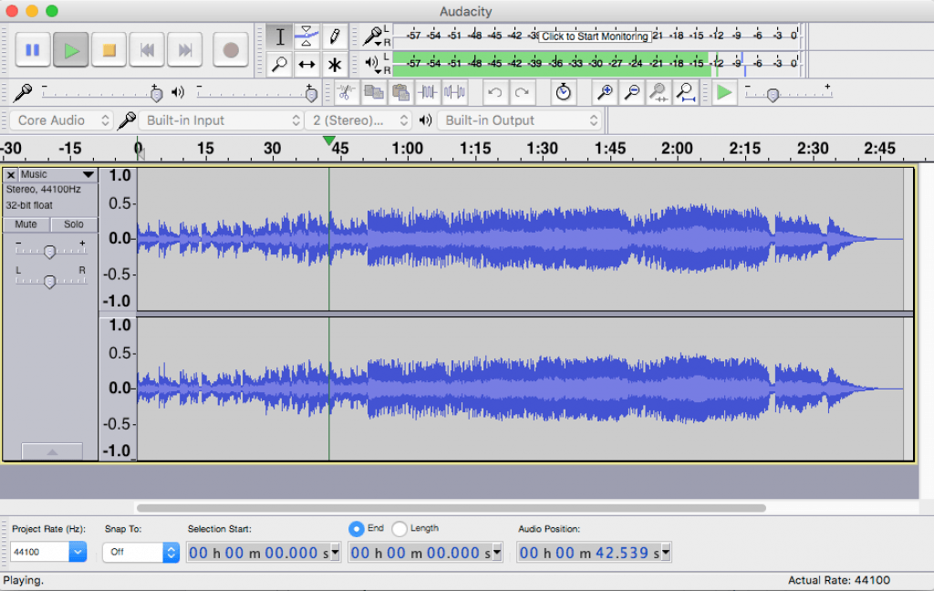 Free Audio Recording Software for Mac - Audacity