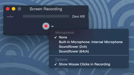 Best video option to screen record